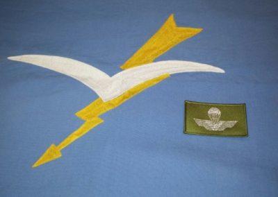 Brevetto militare stoffa