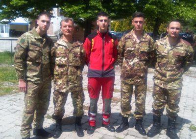 paracadutisti genova anpdi 110 Corso 3