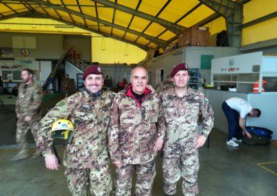 3 anpdi paracadutistigenova addestramento reggio emilia 15 aprile 2018
