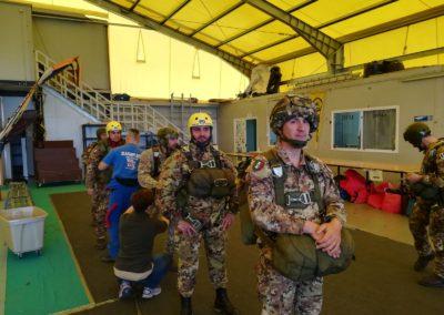 5 anpdi paracadutistigenova addestramento reggio emilia 15 aprile 2018