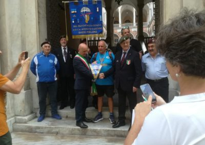 anpdi genova paracadutisti partenza Alessandro Belliere 2