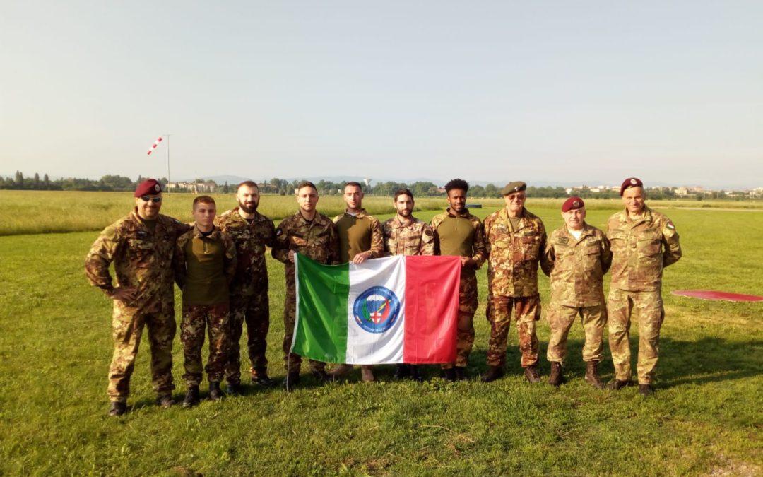Lanci di Brevetto 113° Corso e addestramento Reggio Emilia 13 Maggio 2018
