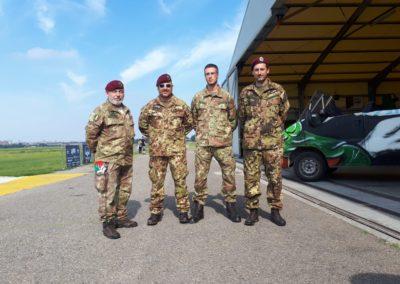 01 anpdi paracadutistigenova lanci addestramento Reggio Emilia 22-07-18