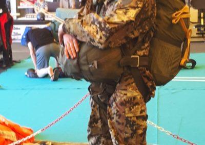 06 anpdi paracadutistigenova lanci addestramento Reggio Emilia 22-07-18
