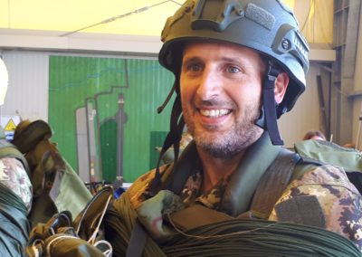 08 anpdi paracadutistigenova lanci addestramento Reggio Emilia 22-07-18