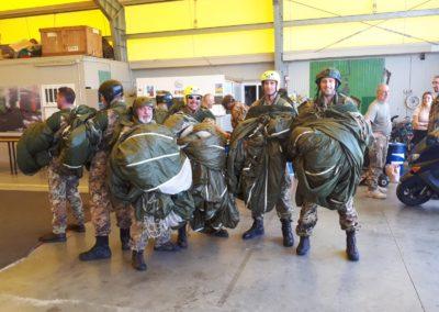 11 anpdi paracadutistigenova lanci addestramento Reggio Emilia 22-07-18