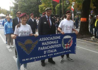 04 anpdi paracadutistigenova Raduno del Centenario Vittorio Veneto