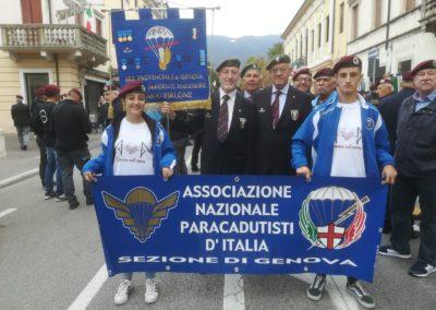 05 anpdi paracadutistigenova Raduno del Centenario Vittorio Veneto