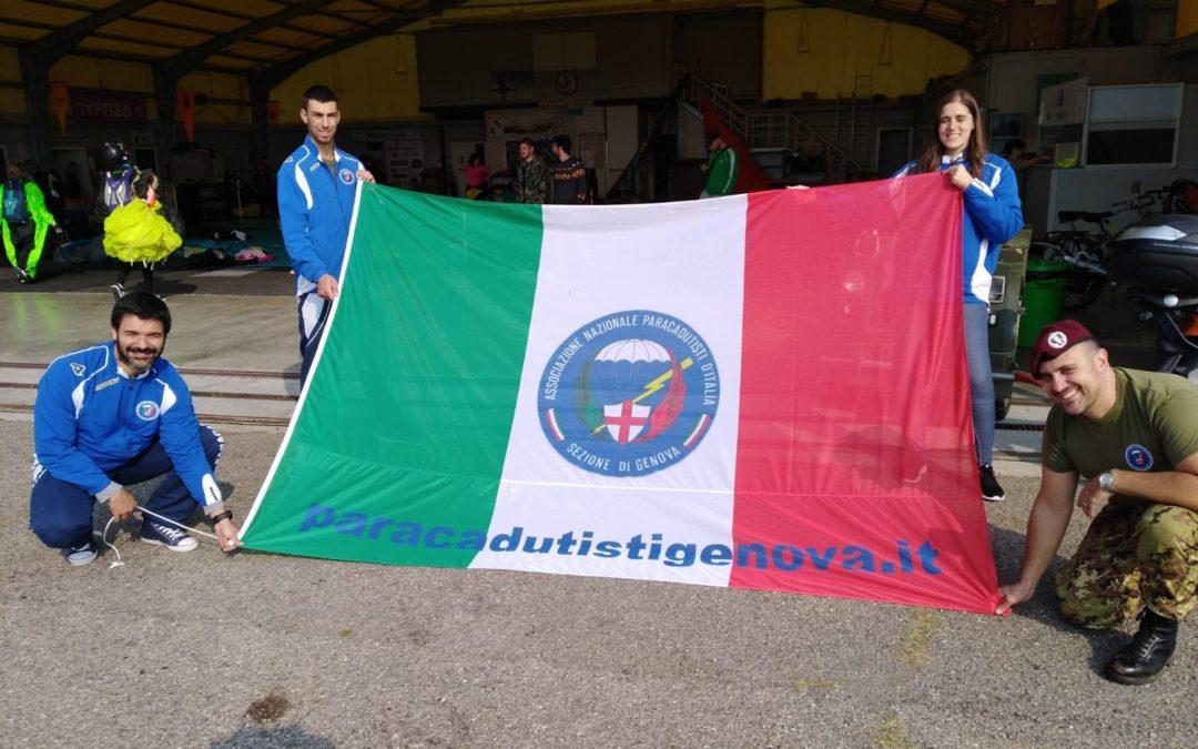 Reggio Emilia 21/10/2018 – Giornata in aeroporto 114esimo Corso e lanci di addestramento