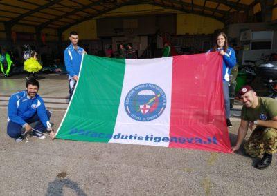 11 paracadutisti anpdi genova Reggio 21-10-18