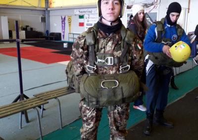 01 paracadutisti anpdi genova brevetto 114esimo corso Reggio 02-12-18