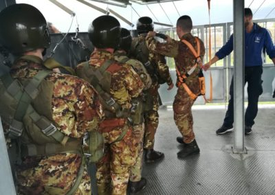 07 anpdi genova paracadutistigenova Caserma Gamerra 2018
