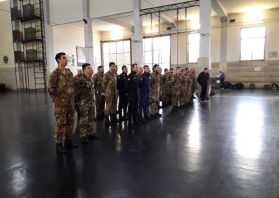 10 anpdi genova paracadutistigenova Caserma Gamerra 2018