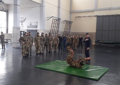 12 anpdi genova paracadutistigenova Caserma Gamerra 2018