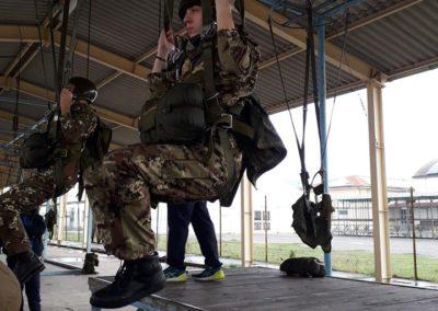 14 anpdi genova paracadutistigenova Caserma Gamerra 2018