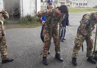 16 anpdi genova paracadutistigenova Caserma Gamerra 2018