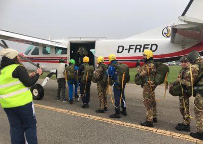 24 paracadutisti anpdi genova brevetto 114esimo corso Reggio 02-12-18