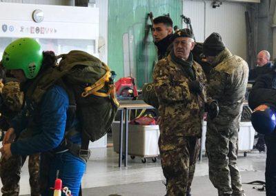 25 paracadutisti anpdi genova brevetto 114esimo corso Reggio 02-12-18