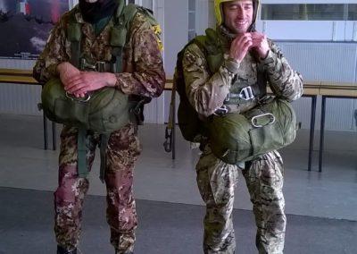 26 paracadutisti anpdi genova brevetto 114esimo corso Reggio 02-12-18