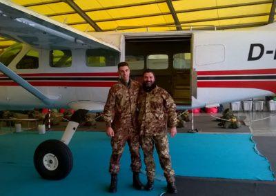 27 paracadutisti anpdi genova brevetto 114esimo corso Reggio 02-12-18