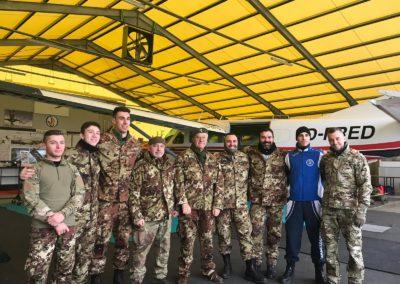 29 paracadutisti anpdi genova brevetto 114esimo corso Reggio 02-12-18