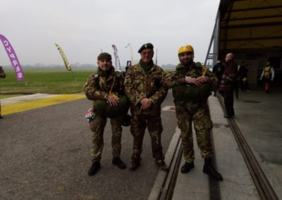 30 paracadutisti anpdi genova brevetto 114esimo corso Reggio 02-12-18